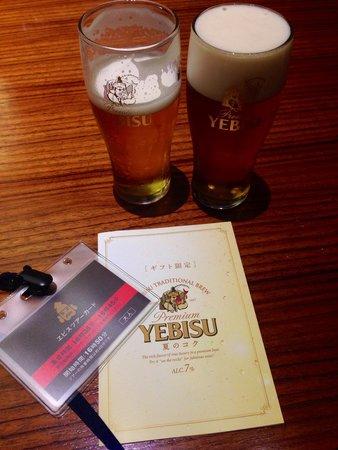Museum of Yebisu Beer: 試飲タイムにとった一枚です!