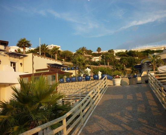 Baia delle Sirene Park Hotel: discesa