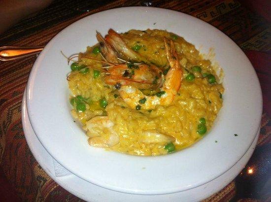 Restaurante Tandory: Risoto de camarão