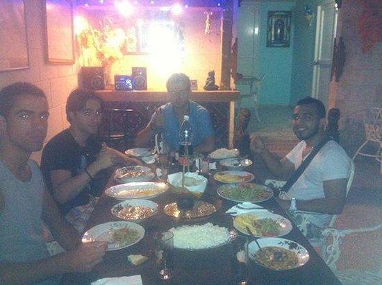 Casa Gloria and Lazaro: Gran cena