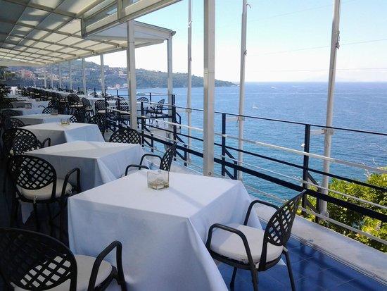 Hotel Parco dei Principi: La terrazza ristorante