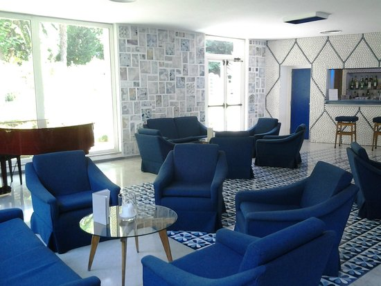 Hotel Parco dei Principi: La sala TV del Parco dei Principi