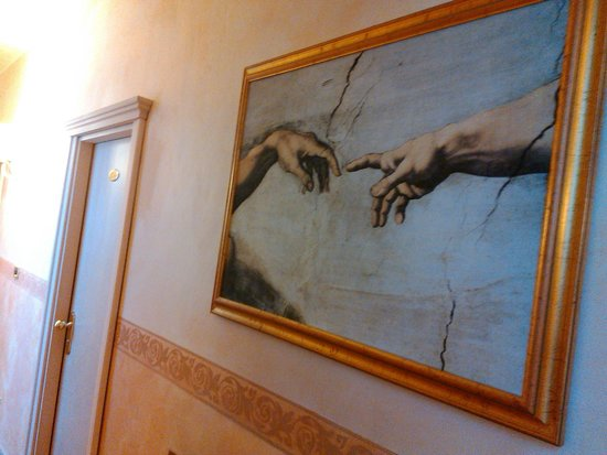 Hotel Alba Palace : corridoio