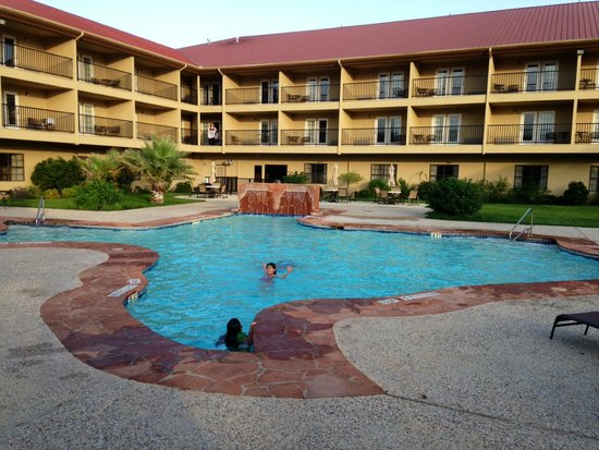 Holiday Inn Express Hotel Suites Texas Shaped Pool
