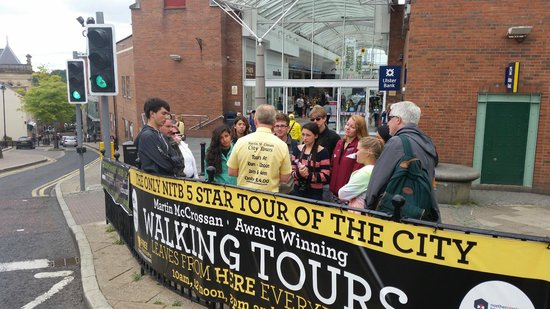 City Tours : Tour starts here!