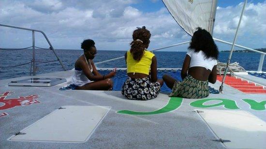 Jammin Catamaran Cruises: jessica's birthday