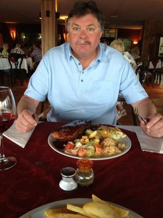 Nestor's Restaurant & Steakhouse : Jack Daniel Ribs Give me more says Colin