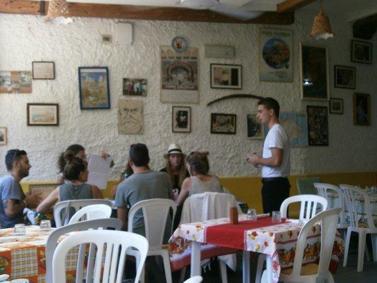 Taverna Pietro Paolo detto Stalino: Трудный выбор-все вкусно