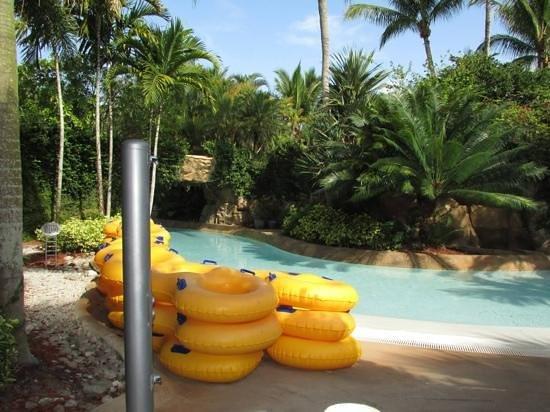 Hyatt Regency Coconut Point Resort & Spa: Entrance to the lazy river at the plantation