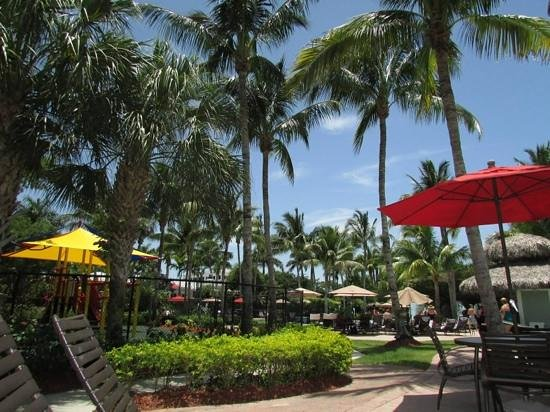 Hyatt Regency Coconut Point Resort & Spa: The playgrounds at the pool at the plantation