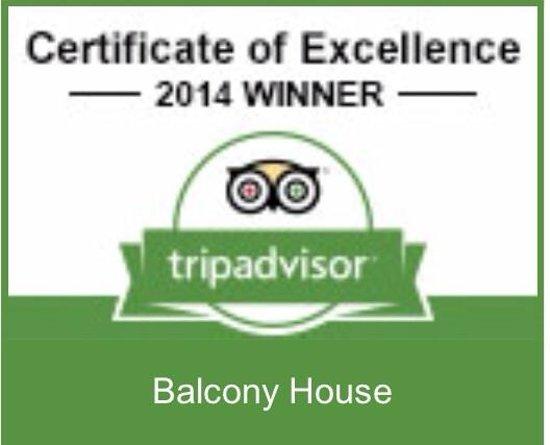 Balcony House Bed and Breakfast: Tripadvisor 2014