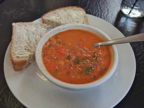 Borscht Bowl: Doukhobour  borscht
