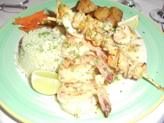 Bonaire Patagonia seafood platter