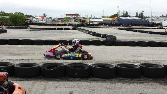 Miami GP Raceway: On the track