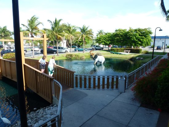 Reese's Restaurant: Pond by restaurant