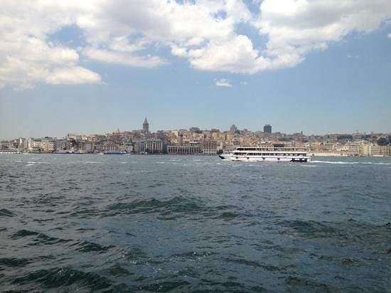 Bosphorus Strait: Tour boat in Bosphorus