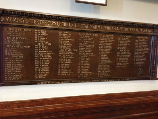 Texas State Capitol : all names