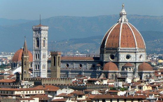 Piazzale Michelangelo: Postkartenmotiv?