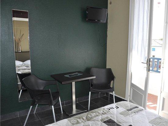 Hôtel Porto Rico : Chambre double avec balcon
