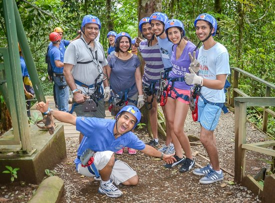 Go Tours Costa Rica - Day Tours: Zipline at Arenal