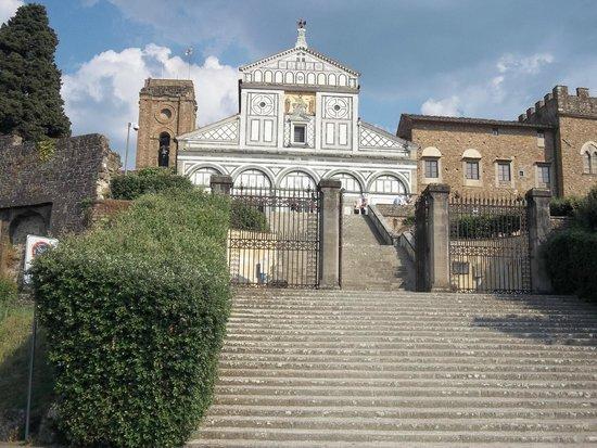 Piazzale Michelangelo: Blick zur Kirche