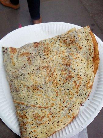Portobello Road Market: Yummy crepe