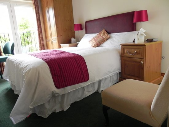 Badgemore Park Golf Club: Double En suite Room 1