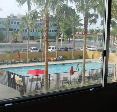 Bakersfield Marriott at the Convention Center: vue de la chambre