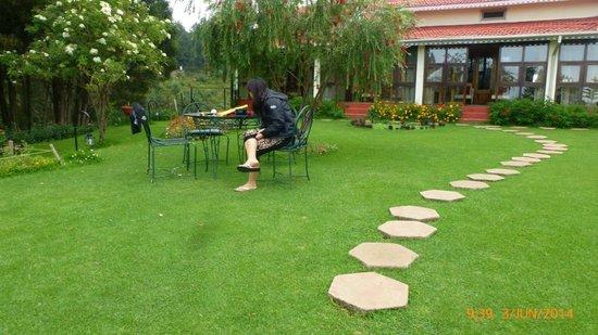 Sherlock Hotel : garden