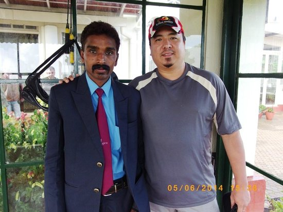 Sherlock Hotel: THE MAN...Mr. Shiva....too bad I did not take a pic with Wilson