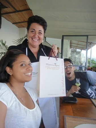 Mamma Agata - Cooking Class : Us with Chiera