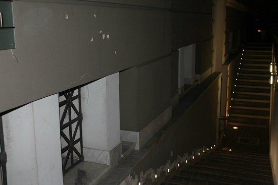 Hotel Garibaldi: Ingreso al Hotel