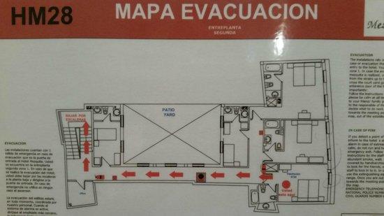Hotel Mezquita : Floor Plan