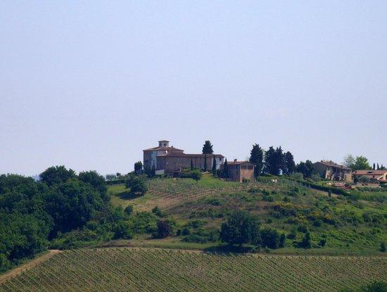 Il Borghetto di San Gimignano Agriturismo : San Gimgiano only 5 Kms.