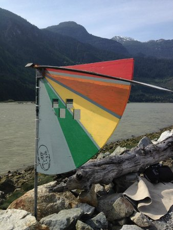 Aerial Kiteboarding: Wind Gauge (on a good day!)