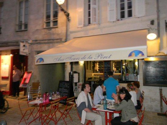 Aux Tours De La Perot (Maître Restaurateur) : terrasse
