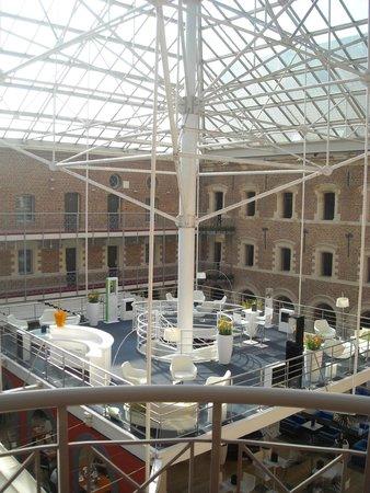 Couvent des Minimes - Alliance Lille : Vue sur le bar supérieur