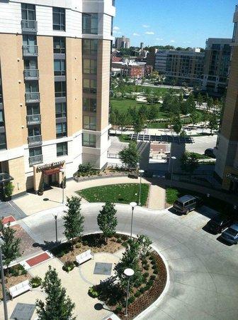 Element Omaha Midtown Crossing: View from bedroom