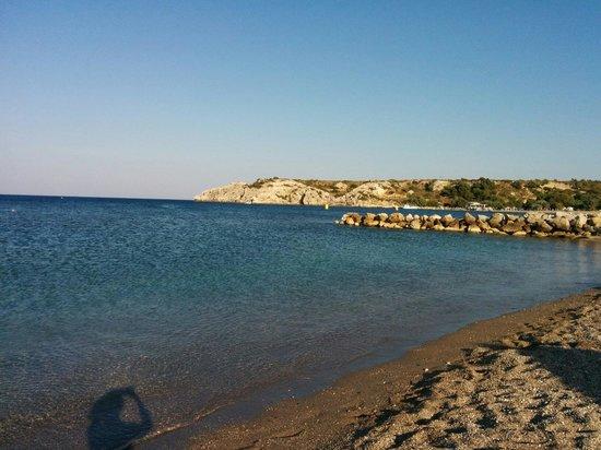 Eden Village Myrina Beach: Il bellissimo mare