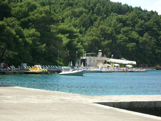 Hotel Croatia Cavtat : View fro harbour area