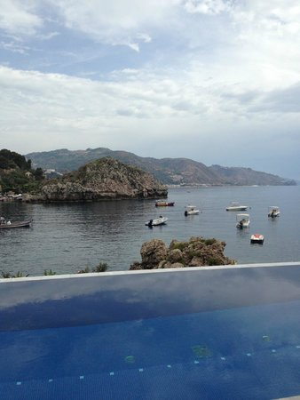 Belmond Villa Sant'Andrea: View from the pool