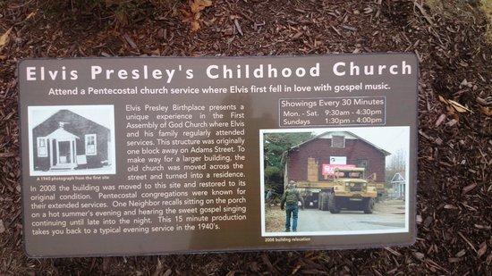 Elvis Presley Center: Elvis Kirche - INFO