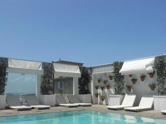 Mondrian Los Angeles Hotel : Poolside