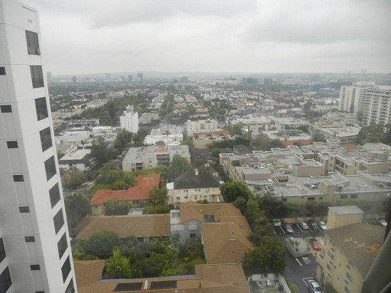 Mondrian Los Angeles Hotel: They call it June gloom but it's only cloudy in the mornings