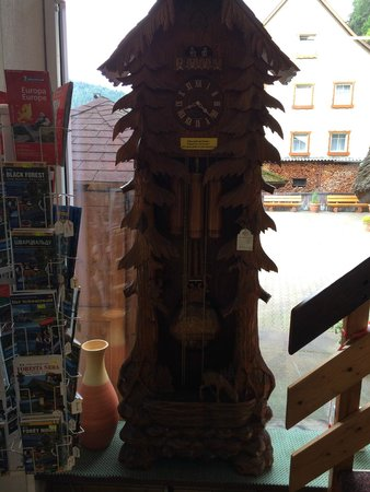 House of Black Forest Clocks: Grandfather style cuckoo clock