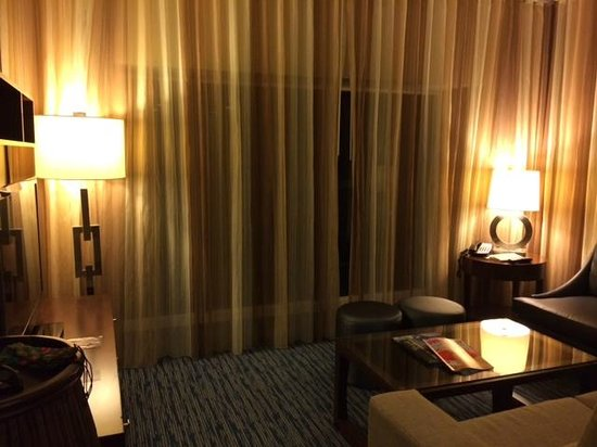 Hilton Fort Lauderdale Beach Resort: Living room