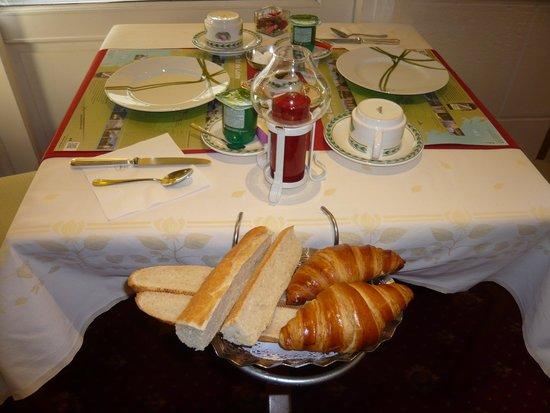 La Boule d'Or : petit déjeuner