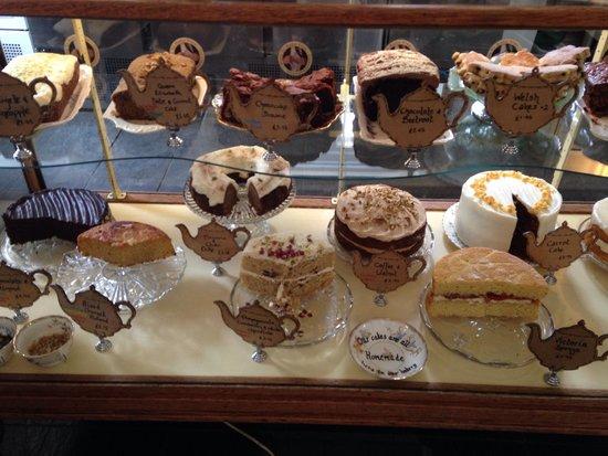 Pettigrew Tea Rooms: Best cake selection