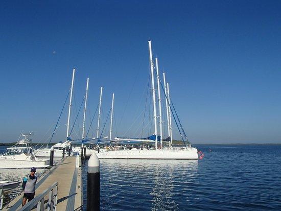 Memories Paraiso Beach Resort: Catamarans