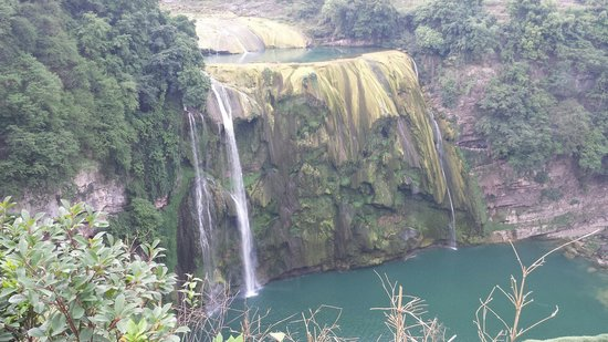 Huangguoshu Falls: 營業時間以外的黃果樹瀑布